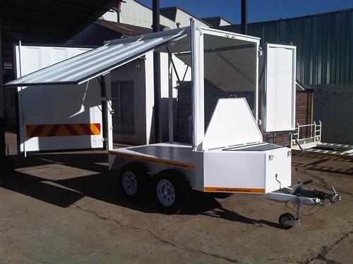 rico mobile workshop trailer