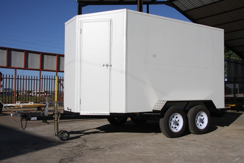Rico trailers double axle insolated panel trailer (11)