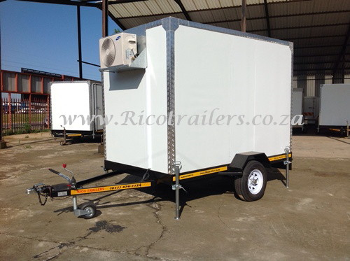 Mobile Cold Room Fridge Freezer Trailers
